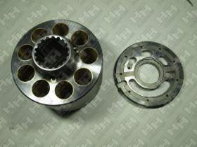 Блок поршней c распределительной плитой для гусеничный экскаватор KOMATSU PC450-8 (708-2H-04760, 708-2H-04750)